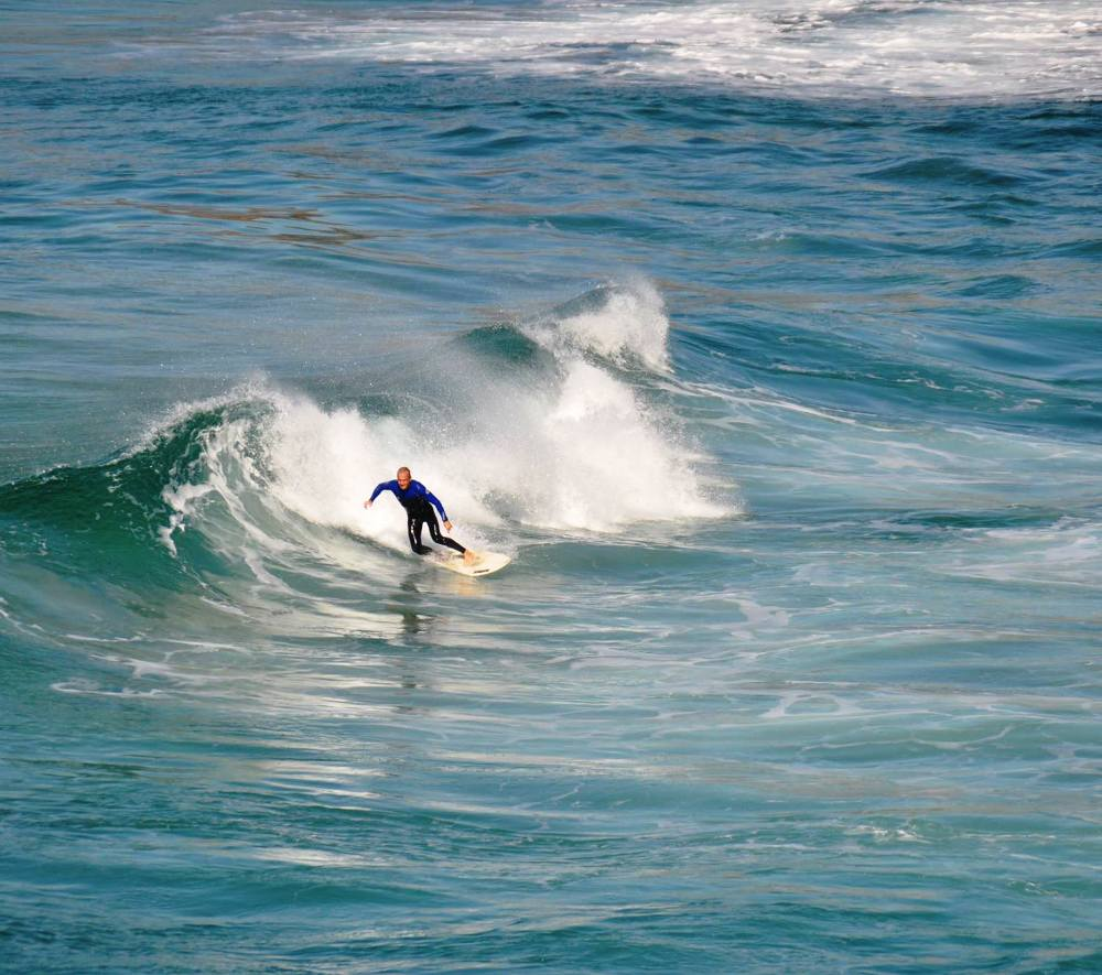 Surfer Bondi Beach