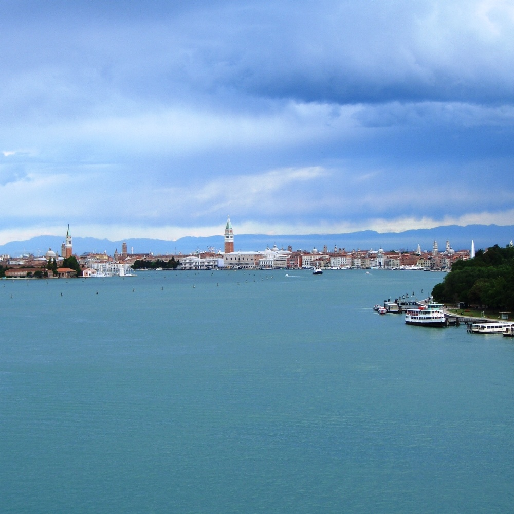 Einfahrt in den Canale di San Marco