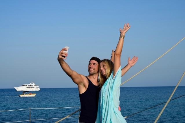 Annic aund Jo haben jede Menge Spaß auf Zypern