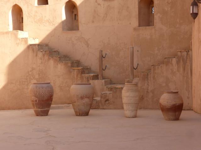 Innenhof des Schlosses Jabreen