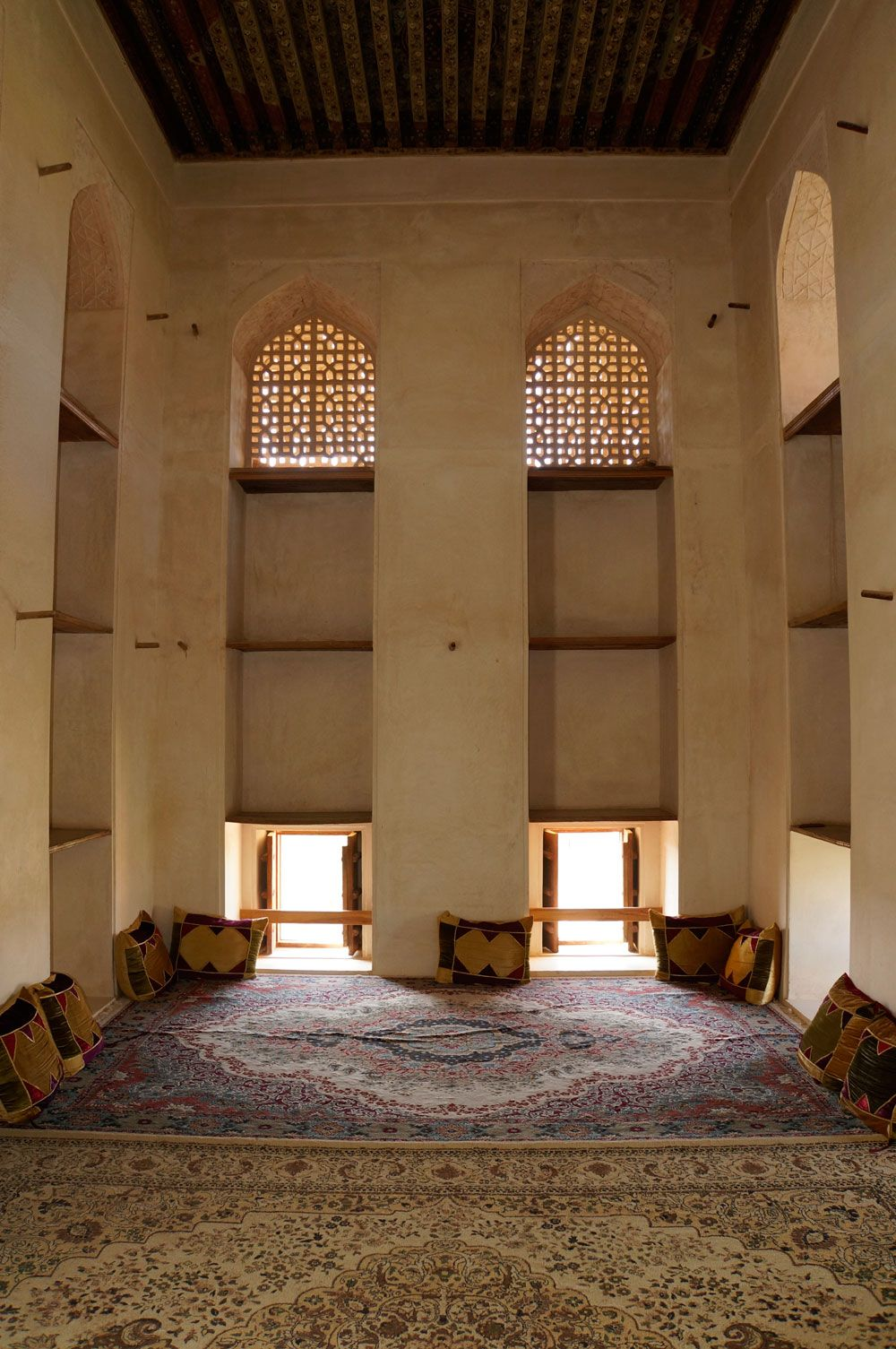 Ein Raum im Schloss Jabreen