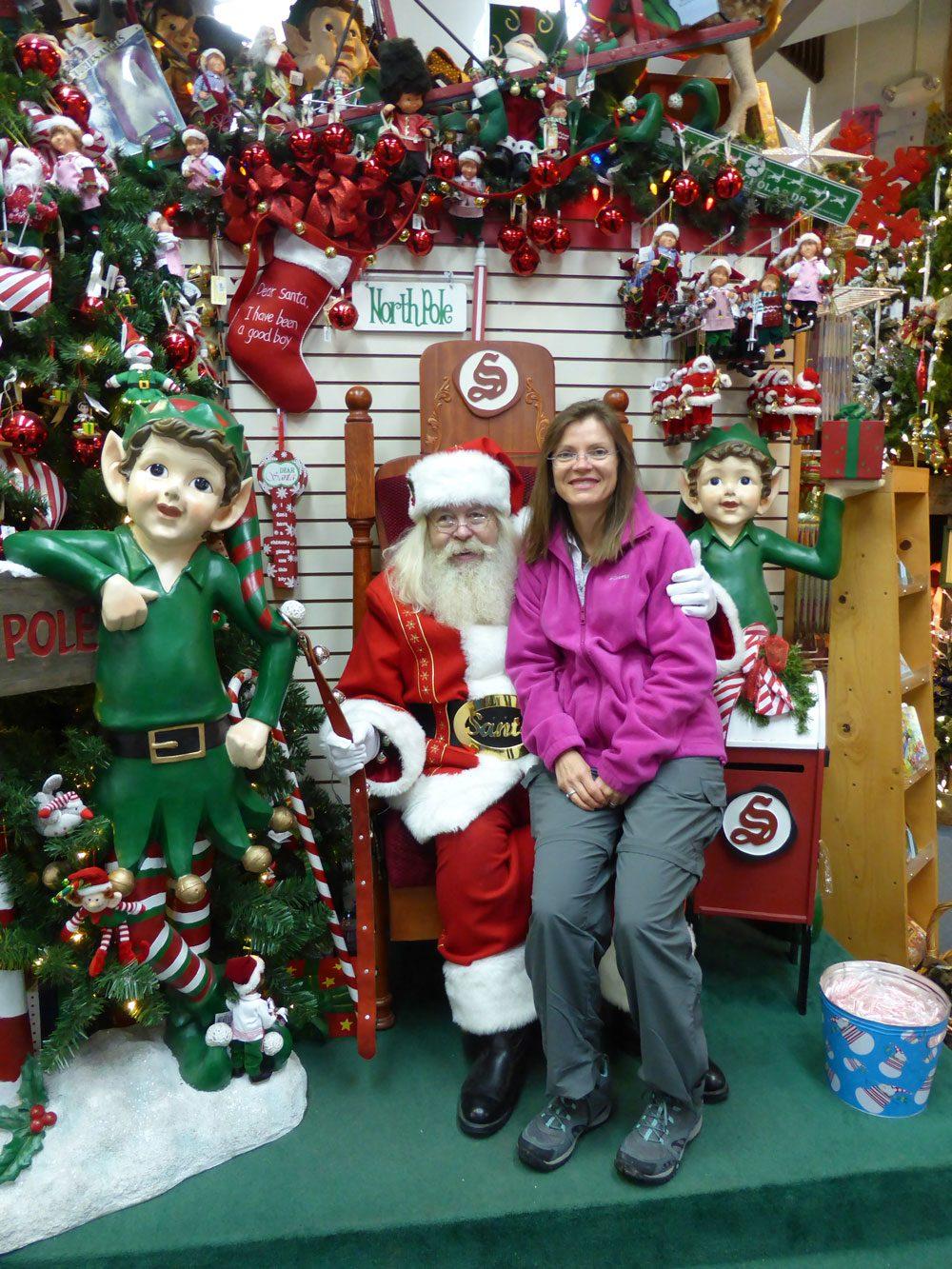 Santa Claus in North Pole