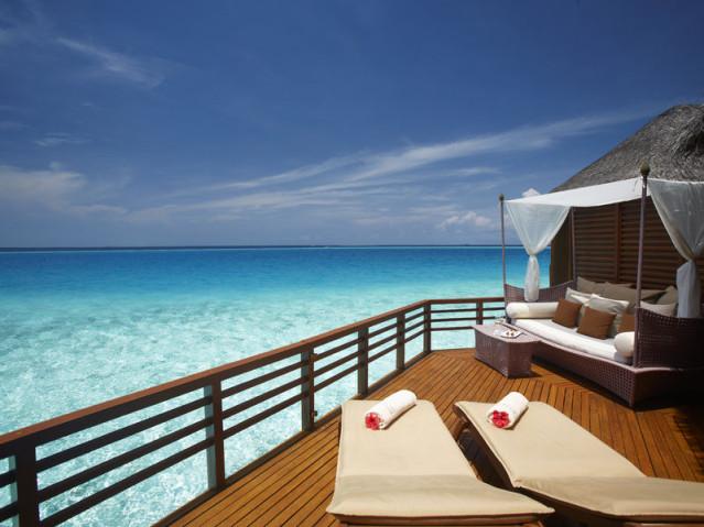 Wasserbungalow Baros Maldives