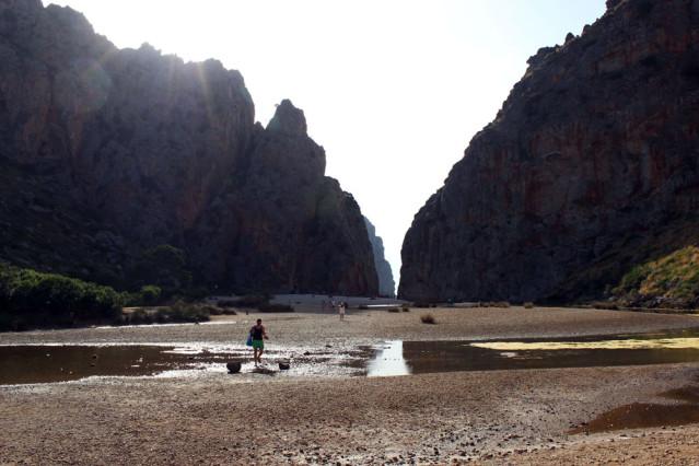 Torrent de Pareis in den Bergen der Serra de Tramuntana in Mallorca
