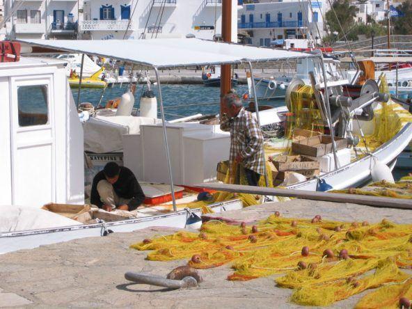 Fischerboot kykladen