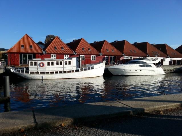 Boote prägen das Stadtbild von Kopenhagen