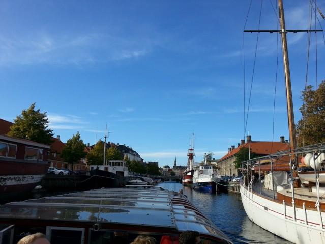 Mit dem Boot durch Kopenhagen