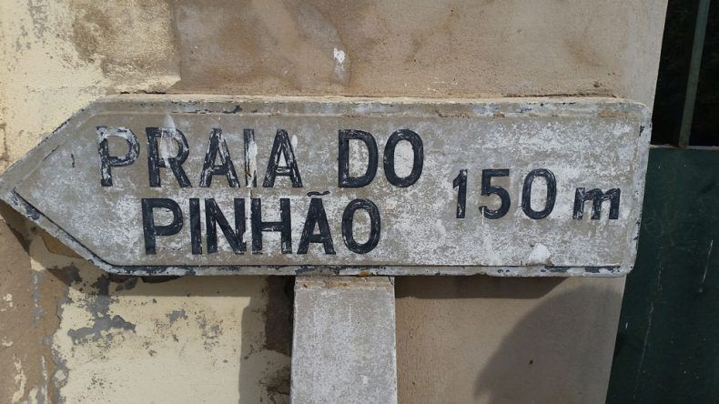 Hier gehts zur Praia do Pinhão