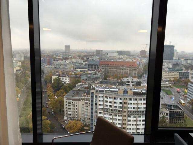 Ausblick Zimmer RIU Berlin