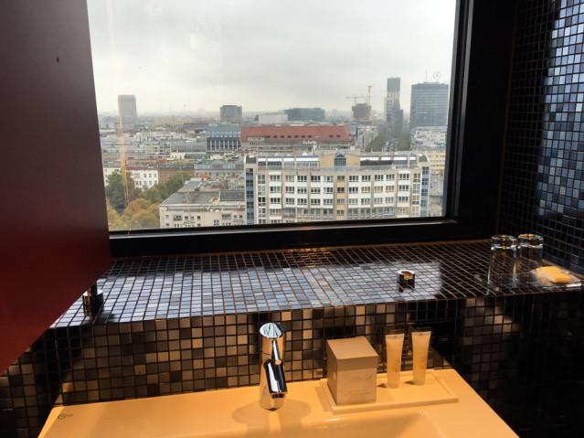 Spiegel Badezimmer RIU Plaza Berlin