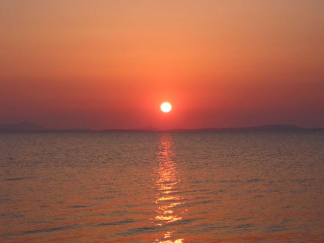 Sonnenuntergang Kykladen