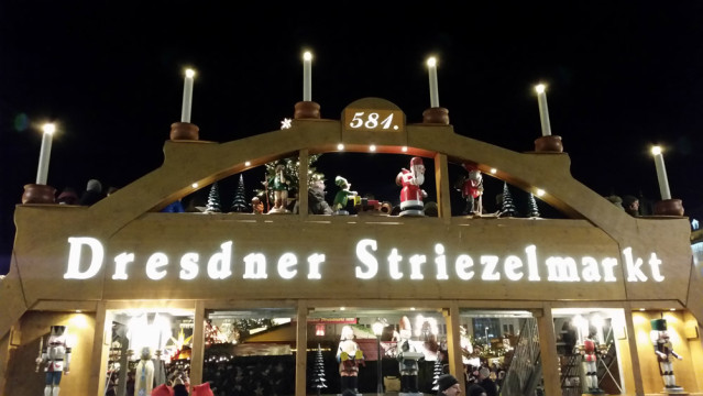 Willkommen auf dem 581. Dresdner Strizelmarkt
