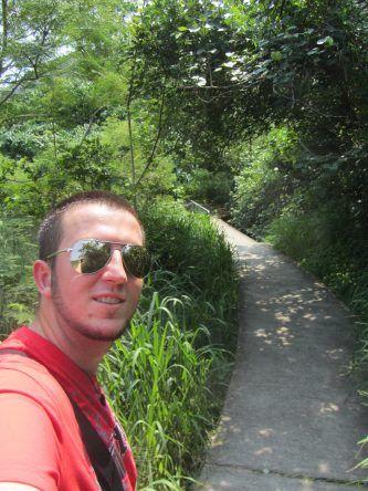 schmale Wege auf Lamma Island