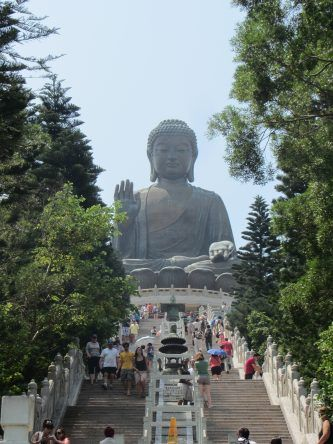 Bronzebuddha auf Lantau Island