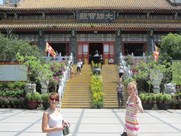 Tempel Lantau Island