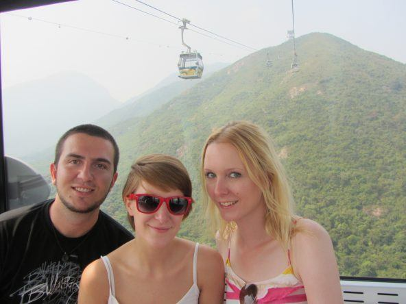 Lantau Island (Ngong Ping 360 Seilbahn)