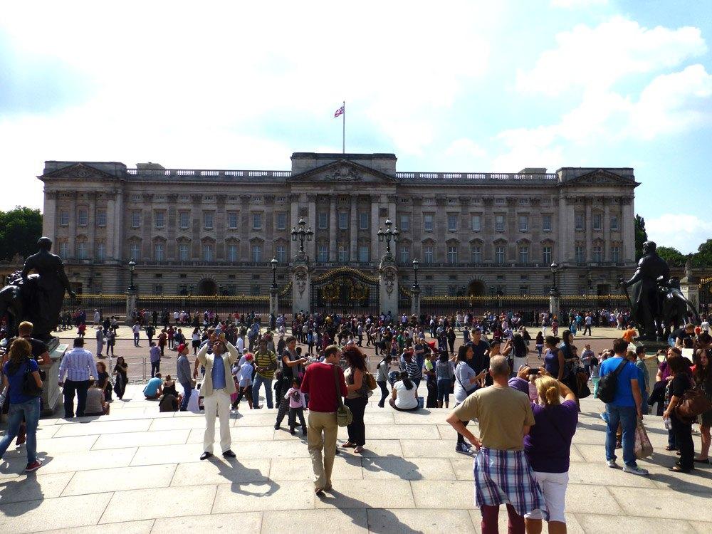 Darf natürlich nicht fehlen: Der Buckingham Palace in London