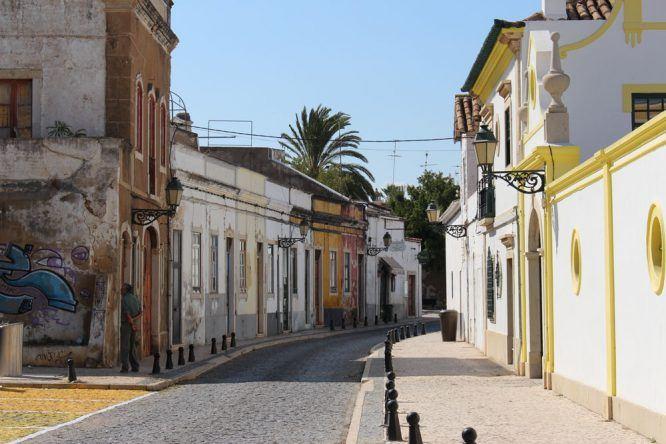 Die schöne Altstadt von Faro