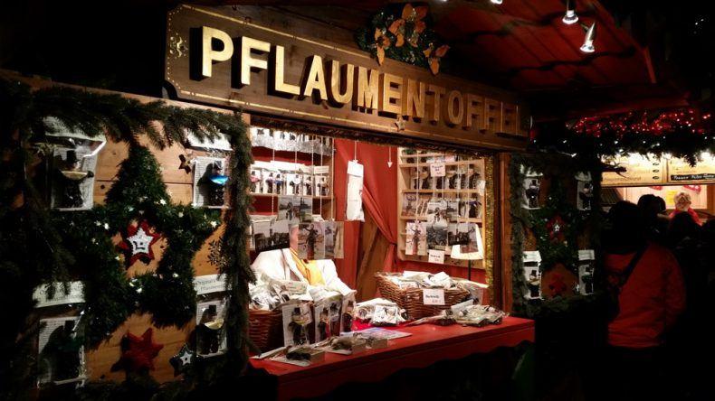 Die Pflaumentoffel ist ein typisches Symbol für den Dresdner Weihnachtsmarkt