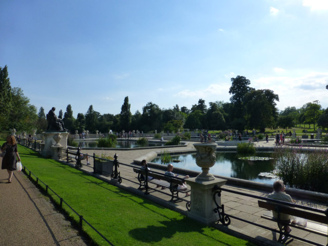 Hier geht's auch mal ruhig zu: Im Hyde Park