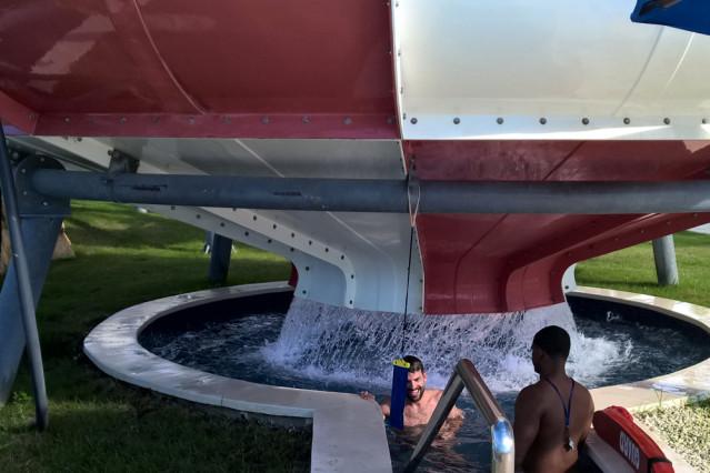 Wasserrutsche Space Bowl