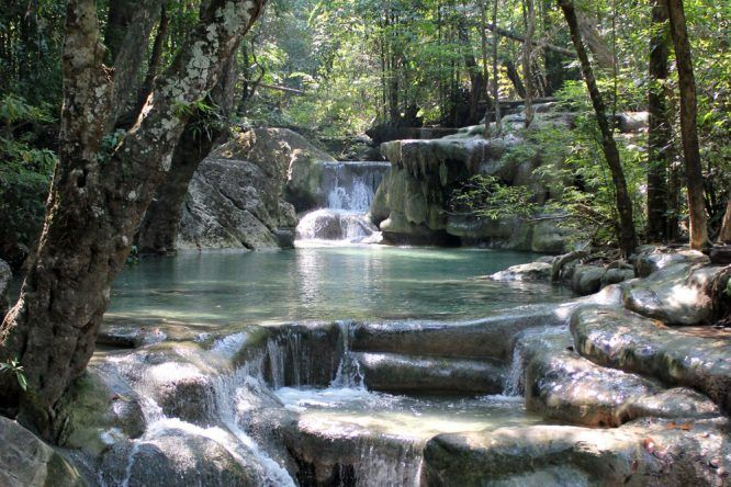 Erawan National Park Thailand