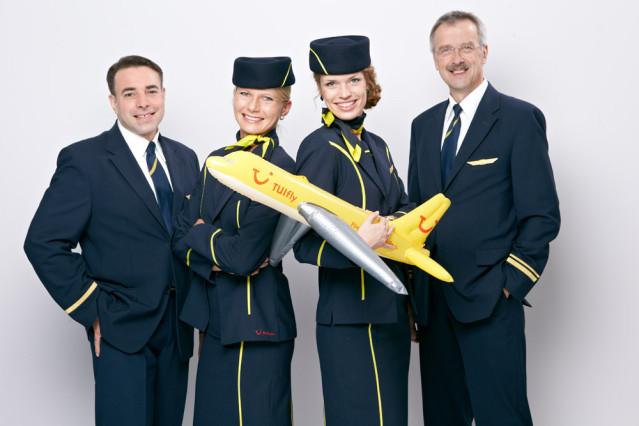 Über den Wolken als Flugbegleiter bei der TUIfly