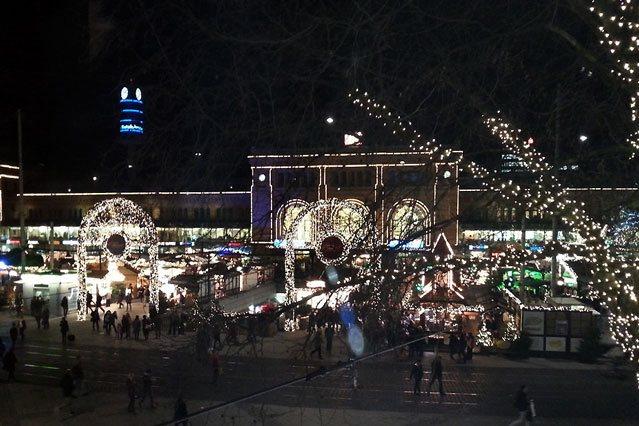 Hannover Ernst August Platz Weihnachten