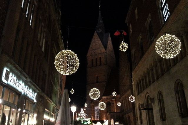 Hannover Weihnachtsmarkt Altstadt