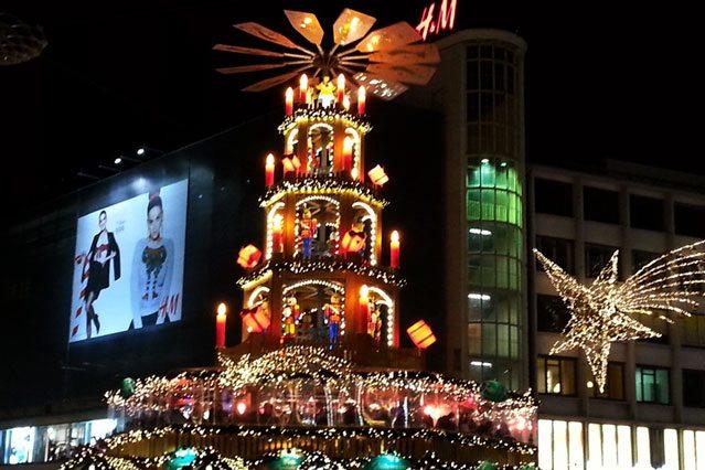 Weihnachtspyramide in Hannover