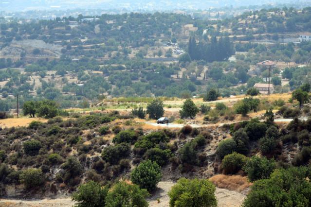 Zypern Mietwagen Berge