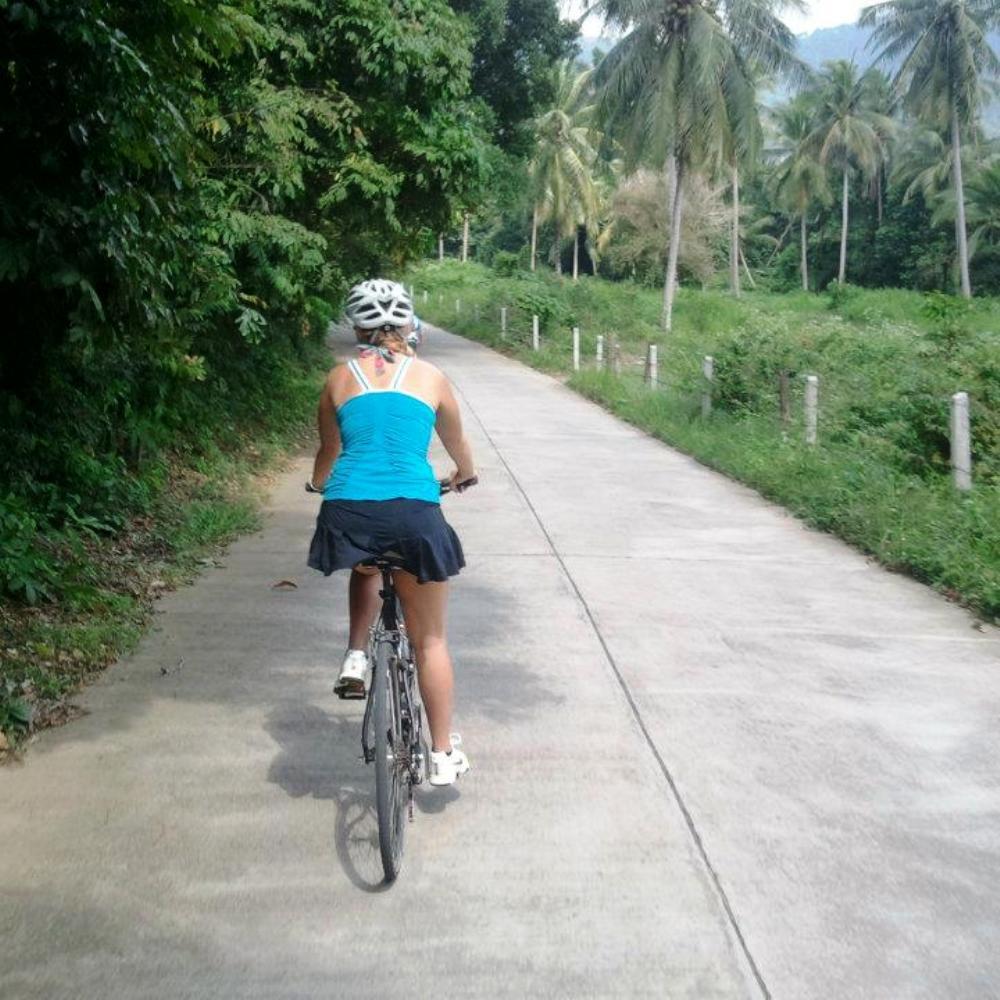 Fahrradtour Koh Samui