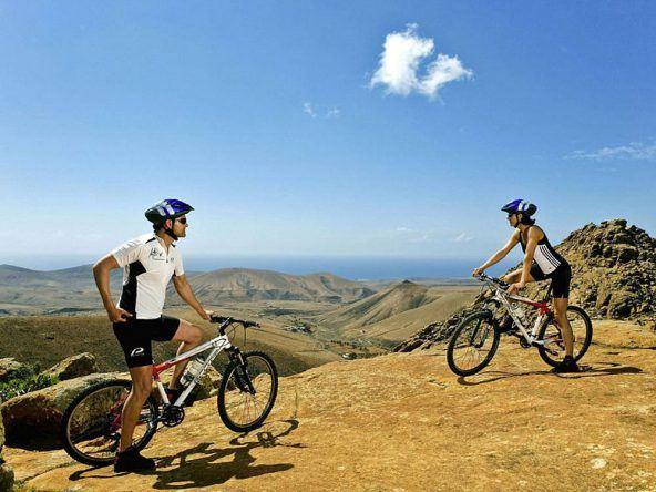 Sportlich die Urlaubsinsel erkunden mit dem Bike