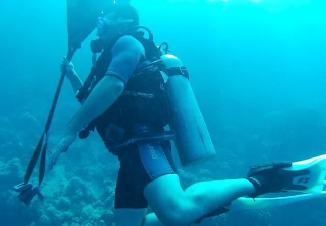 Suchen und Bergen im PADI Advanced Open Water Kurs