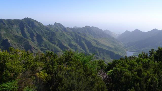 Eine von vielen beeindruckenden Aussichten im immergrünen Anaga-Gebirge