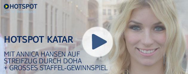 Auf Streifzug durch Doha: Jetzt HOTSPOT Katar schauen