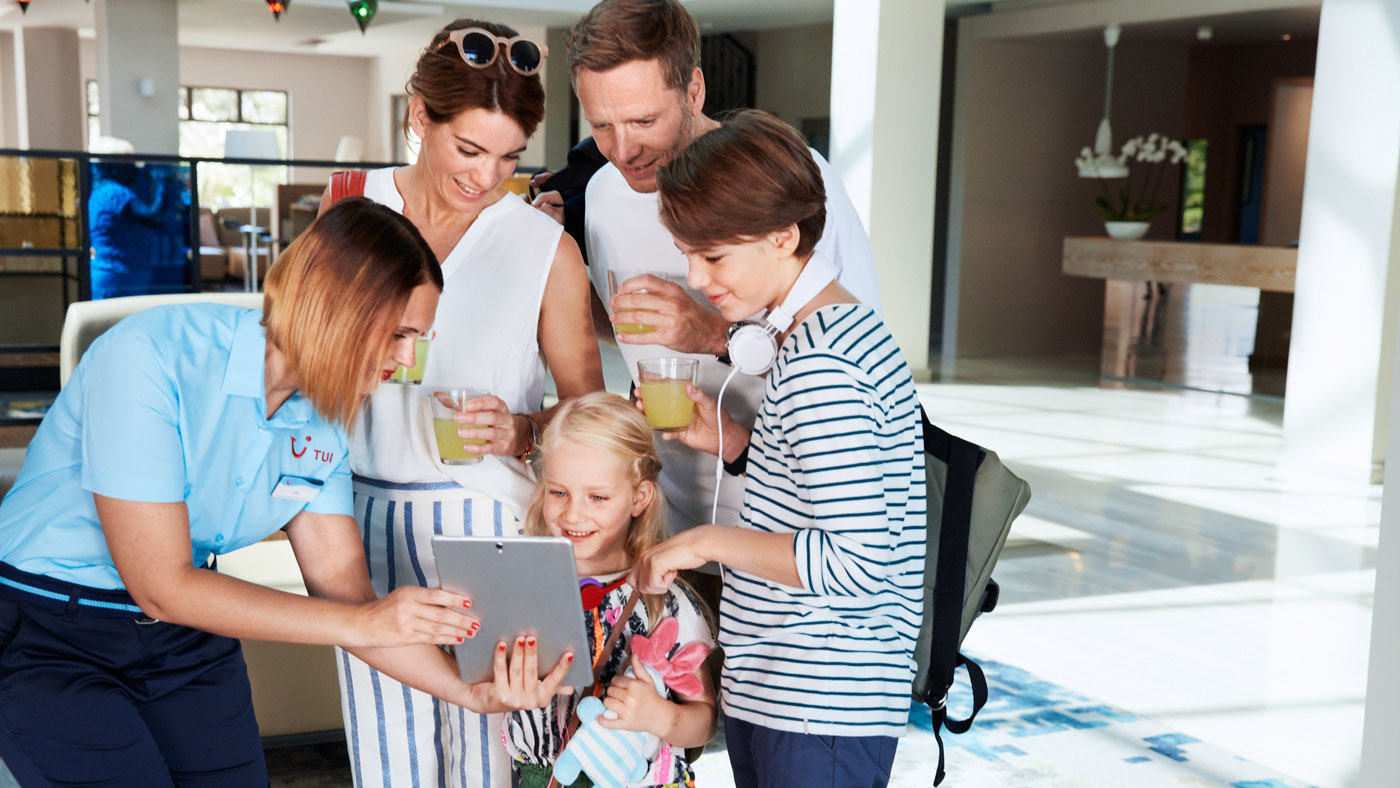 Mit der TUI BLUE App steigt die Vorfreude auf den Urlaub