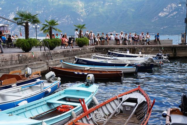 Boote Limone sul Garda
