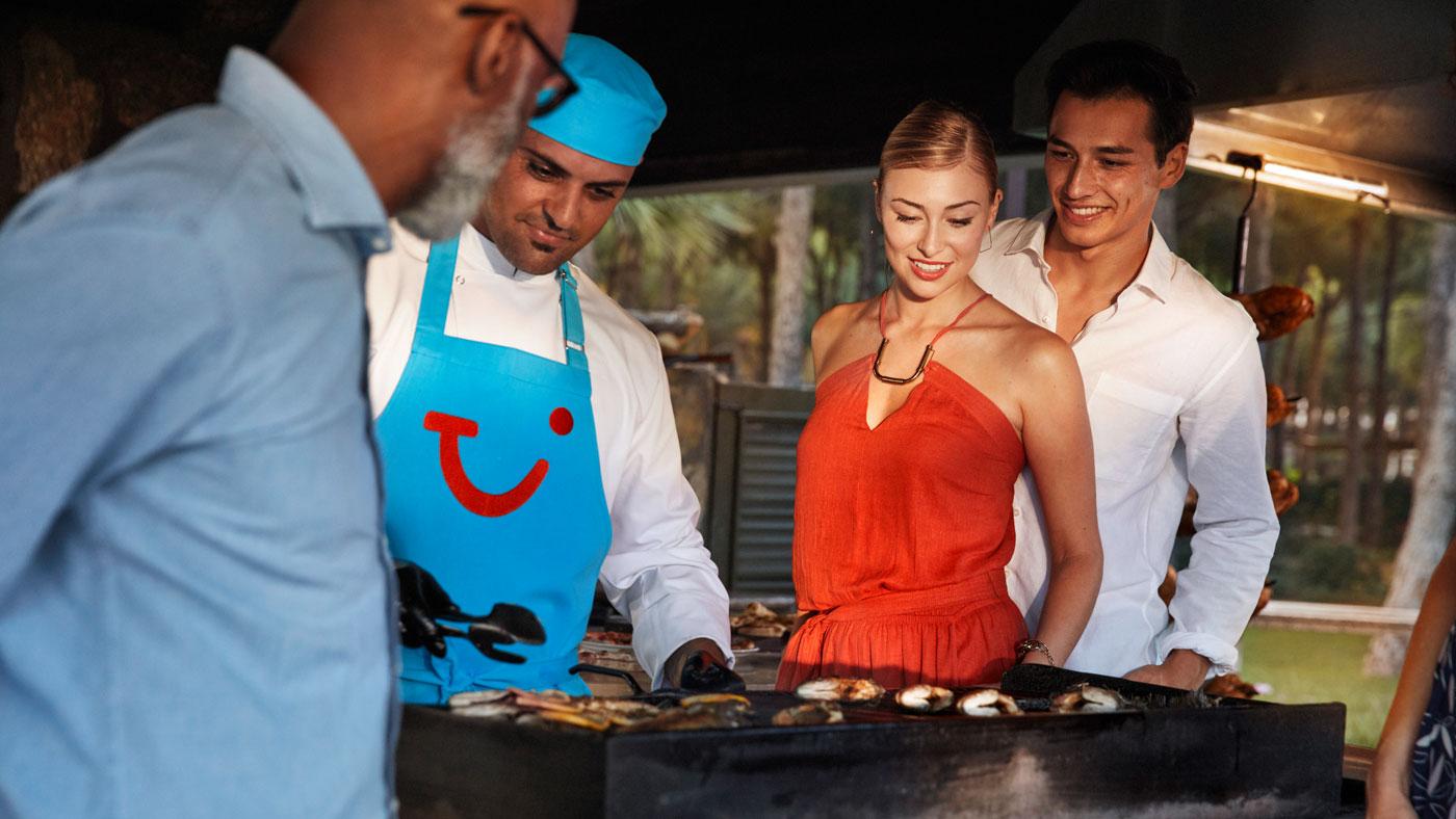 In TUI BLUE Hotels erwarten euch frisch zubereitete Speisen
