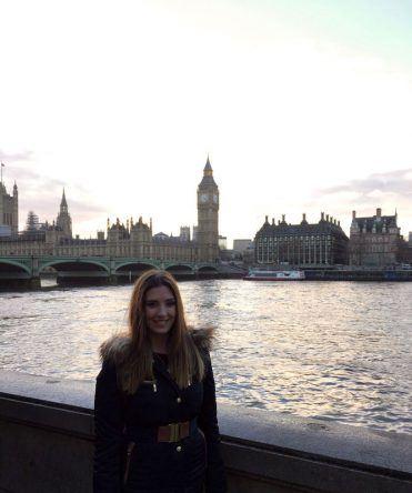 Christina Dörr in London