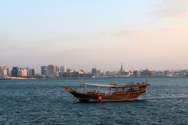 Dhow Doha Skyline