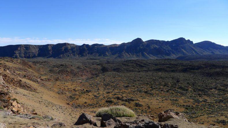 Die Mondlandschaft bei El Teide