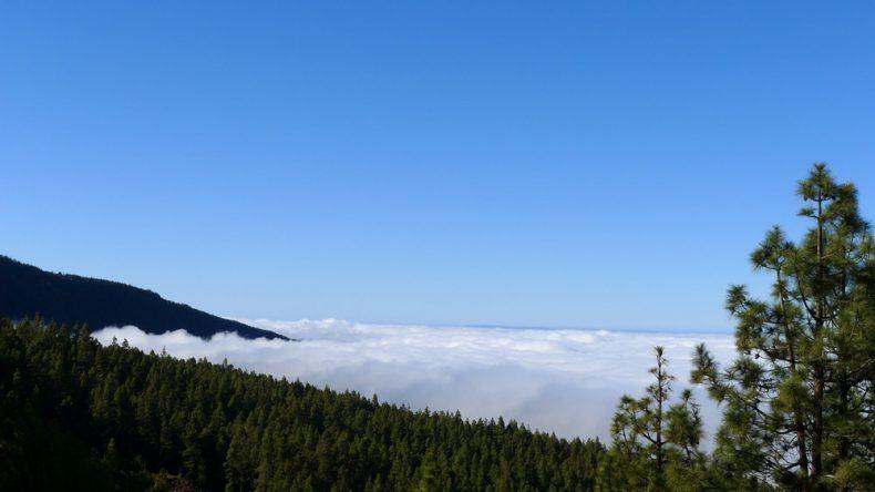 Wolkendichte El Teide