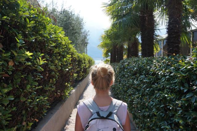 Weg zum Gardasee
