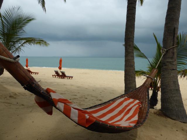 Meine Hängematte am Strand!