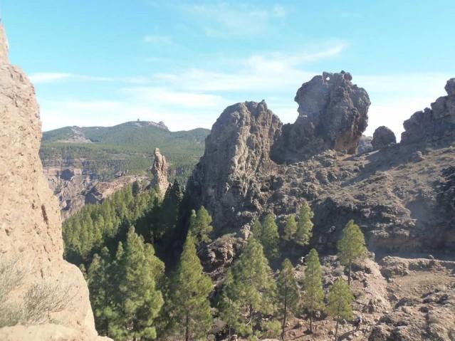 Ein Herz im Fels auf Gran Canaria
