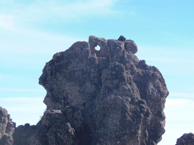 Herz von Nahem am Roque Nublo