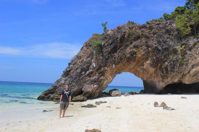 Auf der Insel Koh Kai Satun