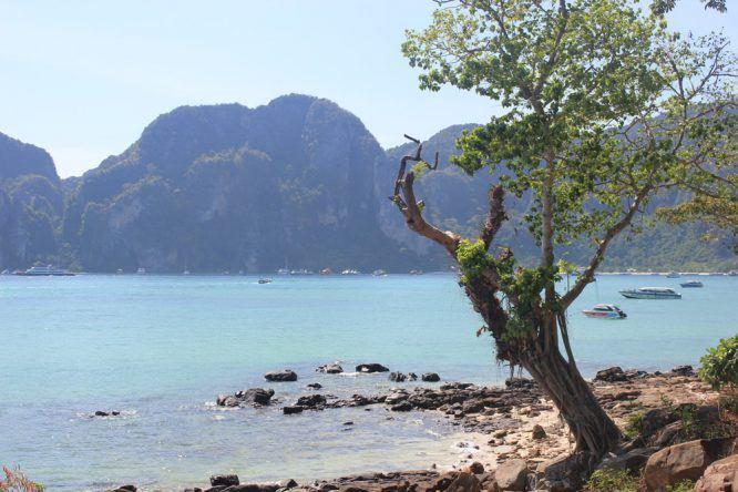 Ausblick Koh Phi Phi Don