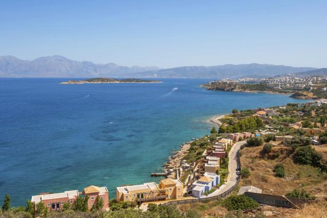 Die wundervolle Landschafts Kretas